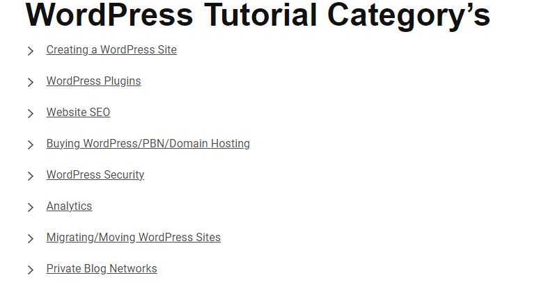 Design WordPress Sites
