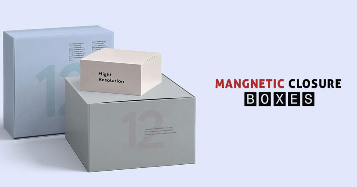 5 Benefits of Magnetic Closure Boxes for Packaged Products